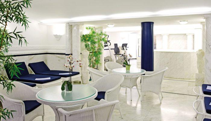 Relaxen in der Ruhezone des SPA-Bereiches im Seaside Park Hotel