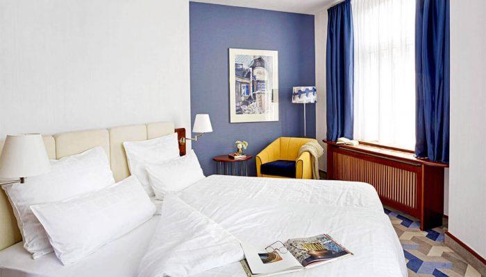 Seaside Park Hotel Junior Suite Schlafzimmer