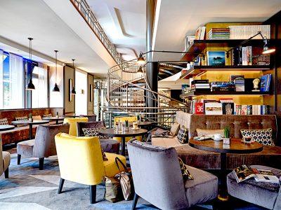 Park Hotel Leipzig - Café Sitzecke