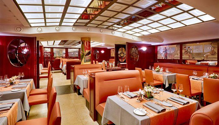 Restaurant Steaktrain im Park Hotel Leipzig