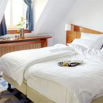 Schlafbereich im Superior Zimmer